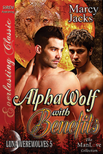 Alpha Wolf with Benefits -- Marcy Jacks
